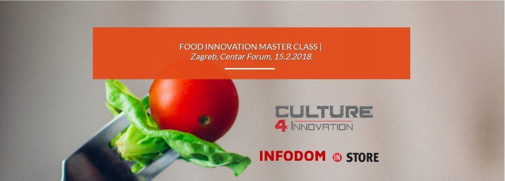 FOOD INNOVATION MASTER CLASS
